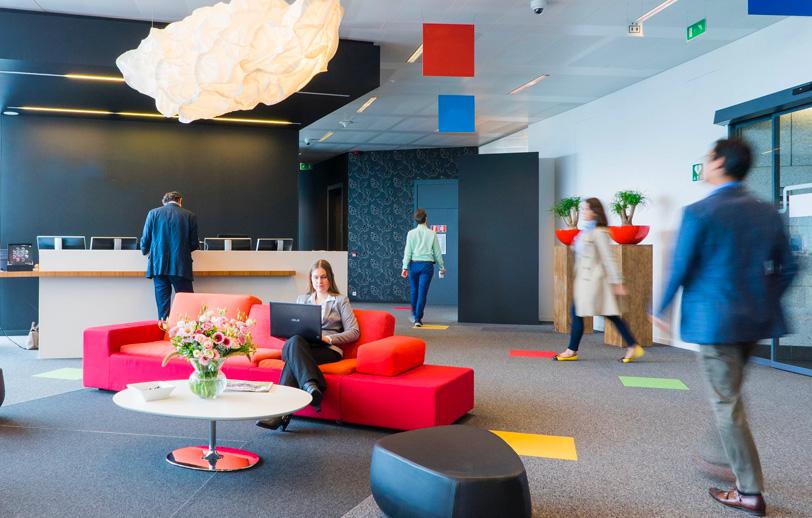 people in a modern office