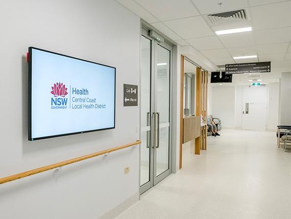 NSW Health Hospital Hallway and Lobby