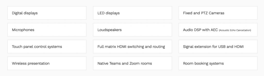 How to Choose the Right Partner for Your Conference Room Audio Visual Installation 1