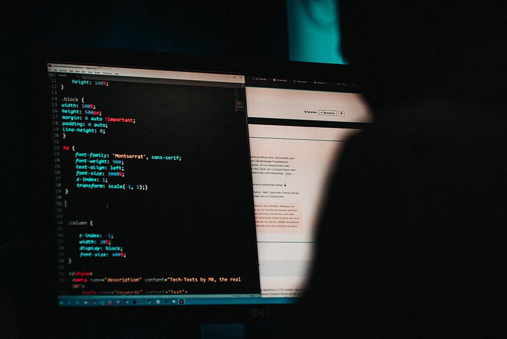 Cyber attack hacker